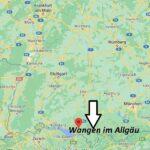 Wo ist Wangen im Allgäu (Postleitzahl 88239)