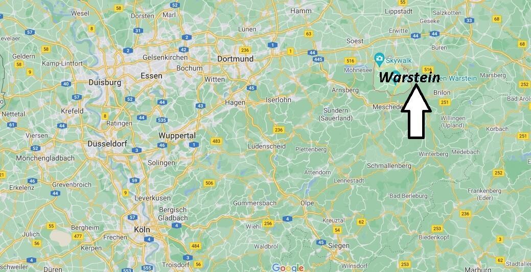 In welchem Bundesland liegt Warstein