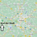 Wo ist Weil der Stadt (Postleitzahl 71263)