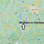 Wo ist Weilheim in Oberbayern (Postleitzahl 82362)
