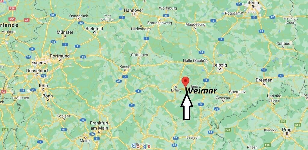 In welchem Bundesland liegt Weimar