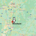 Wo ist Weinheim (Postleitzahl 69469)
