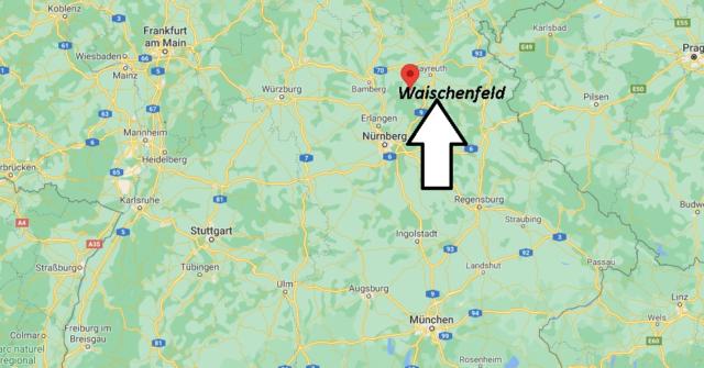 Wo liegt Waischenfeld