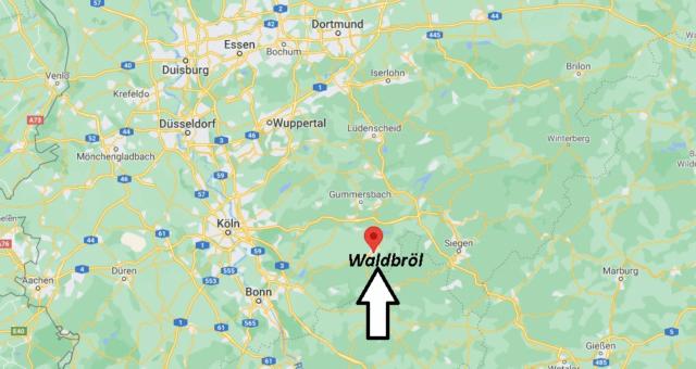 Wo liegt Waldbröl