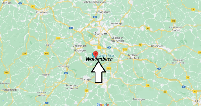 Wo liegt Waldenbuch