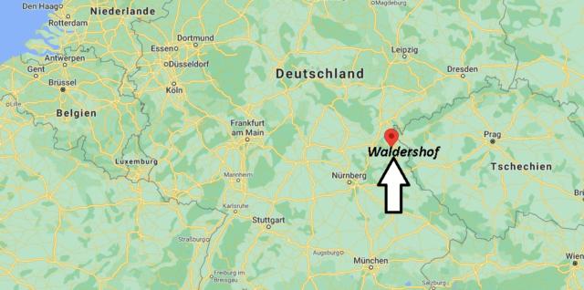 Wo liegt Waldershof