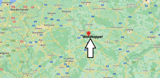 Wo liegt Waldkappel