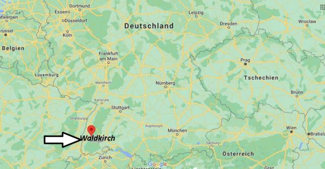 Wo liegt Waldkirch