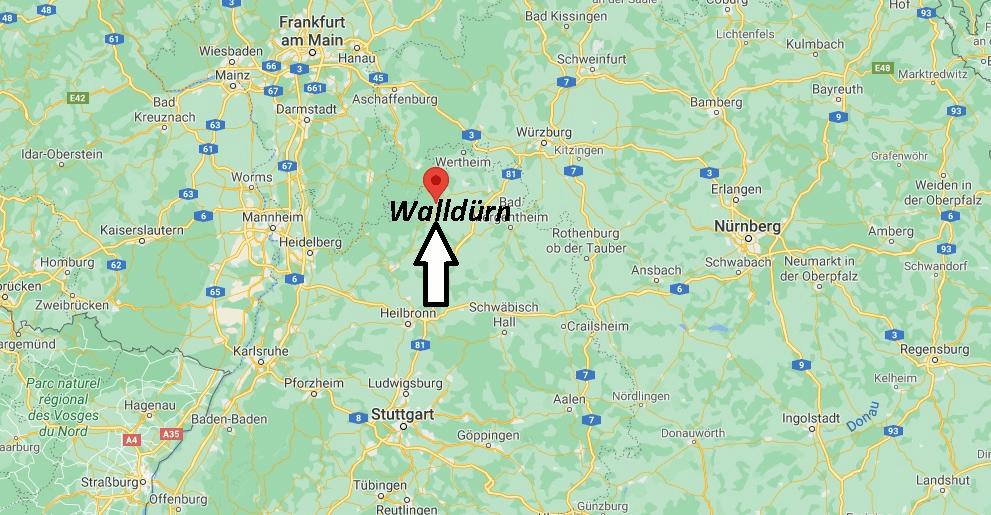 Wo liegt Walldürn