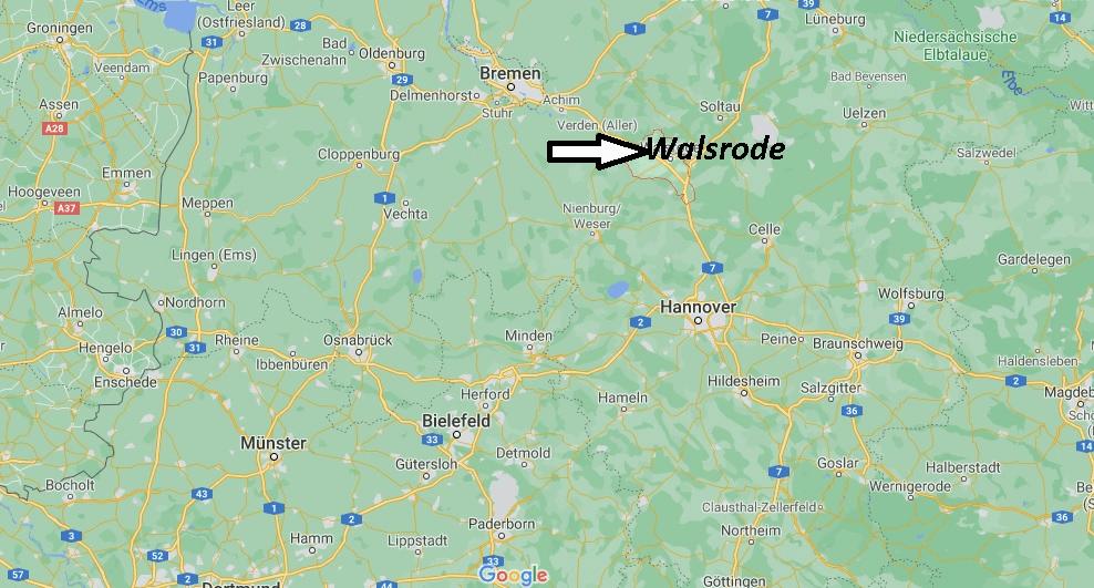 Wo liegt Walsrode