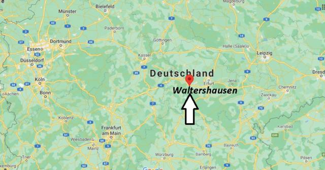 Wo liegt Waltershausen