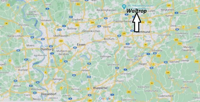 Wo liegt Waltrop