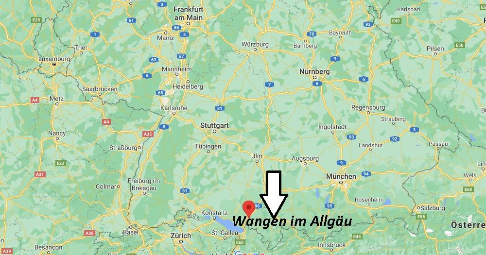 In welchem Bundesland liegt Wangen im Allgäu