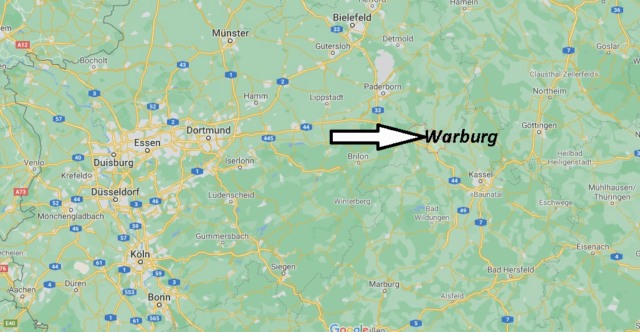 Wo liegt Warburg