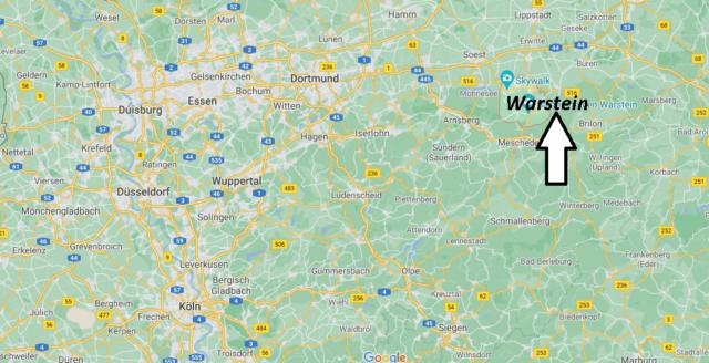 Wo liegt Warstein