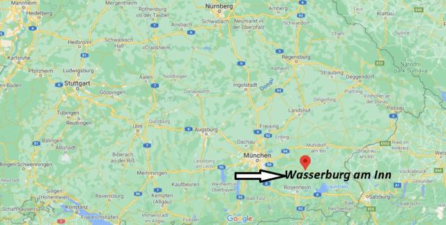 Wo liegt Wasserburg am Inn
