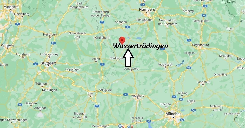 In welchem Bundesland liegt Wassertrüdingen