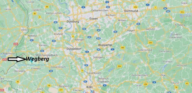 Wo liegt Wegberg