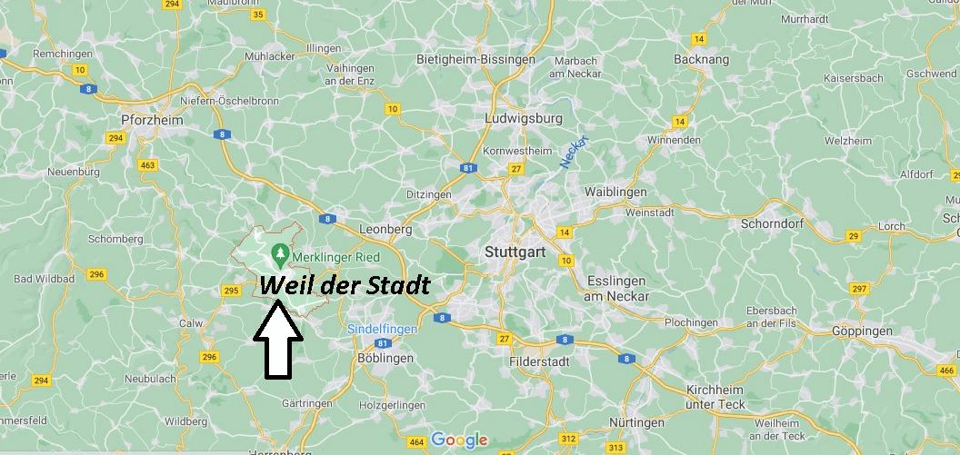 In welchem Bundesland liegt Weil der Stadt
