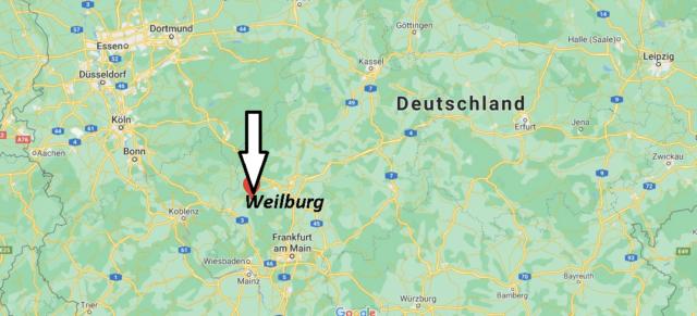 Wo liegt Weilburg