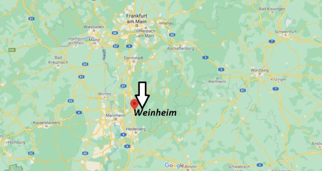Wo liegt Weinheim