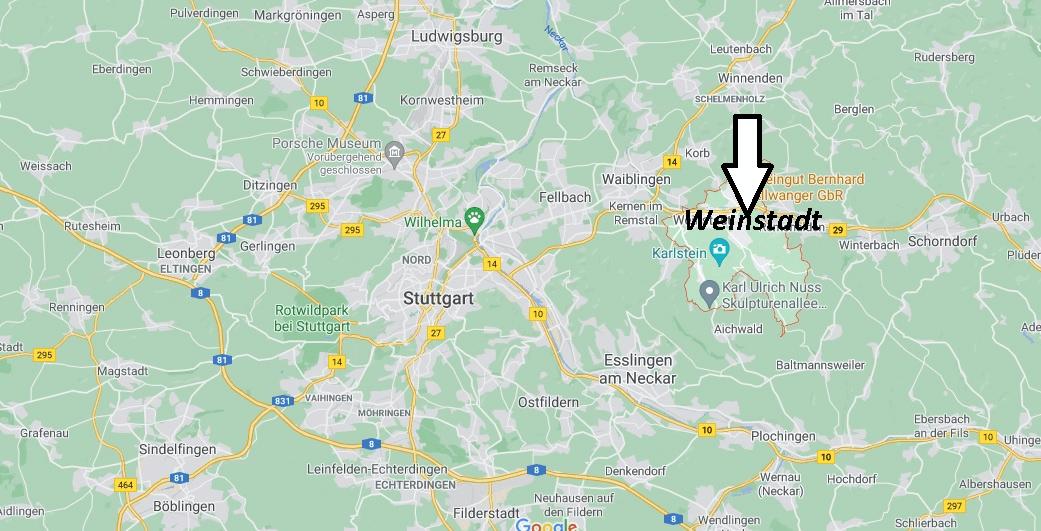 In welchem Bundesland liegt Weinstadt