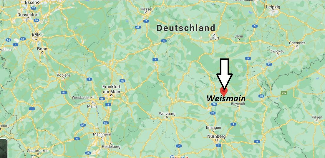 Wo liegt Weismain