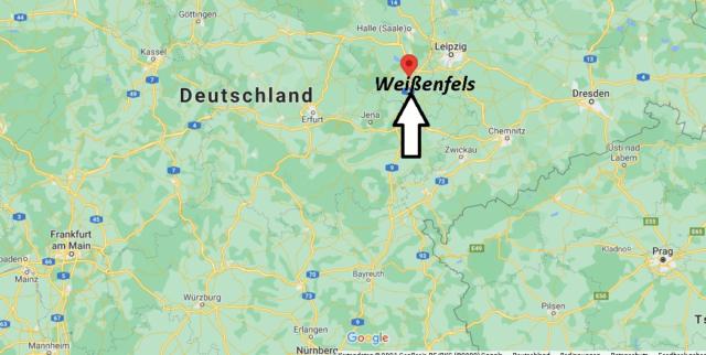 Wo liegt Weißenfels
