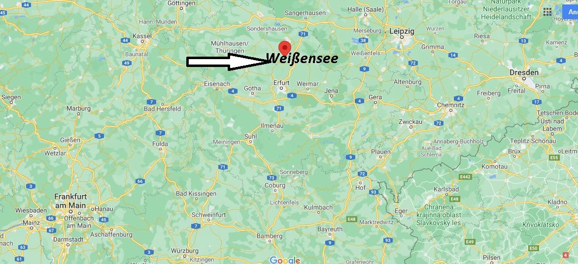 Wo liegt Weißensee