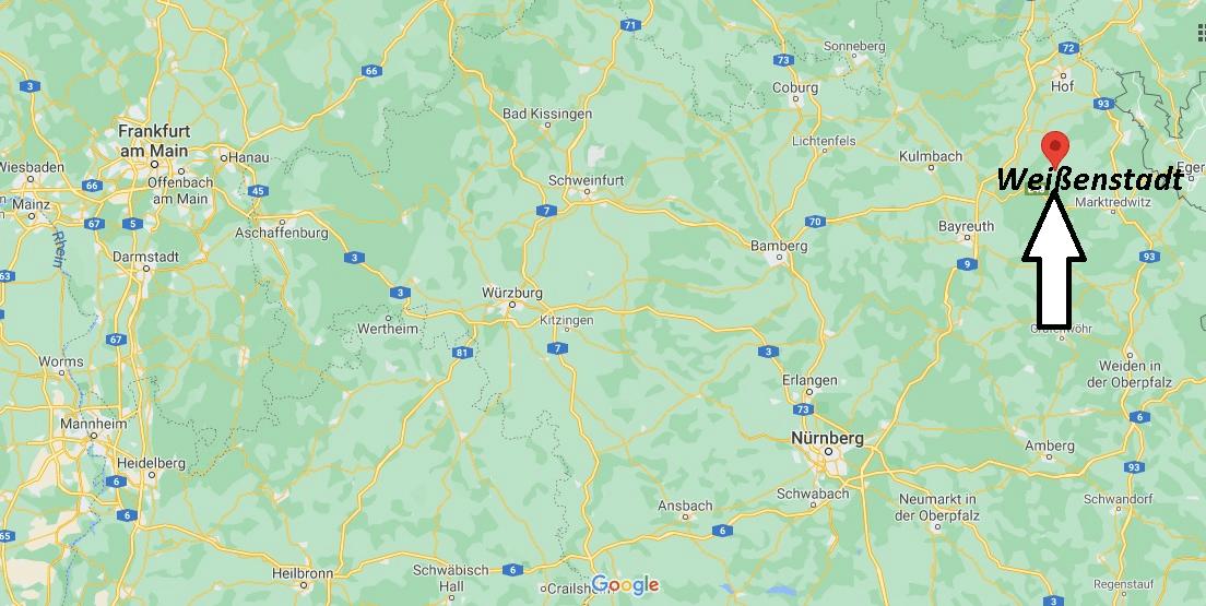Wo liegt Weißenstadt
