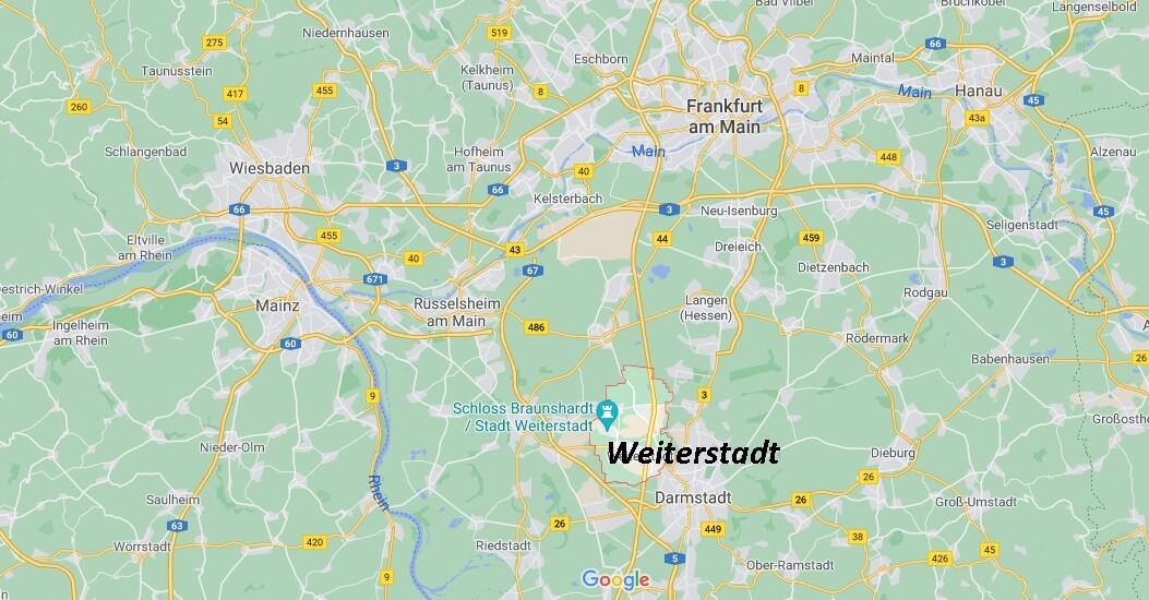 In welchem Bundesland liegt Weiterstadt