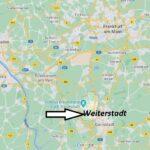 Wo ist Weiterstadt (Postleitzahl 64331)