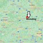 Wo ist Wemding (Postleitzahl 86650)