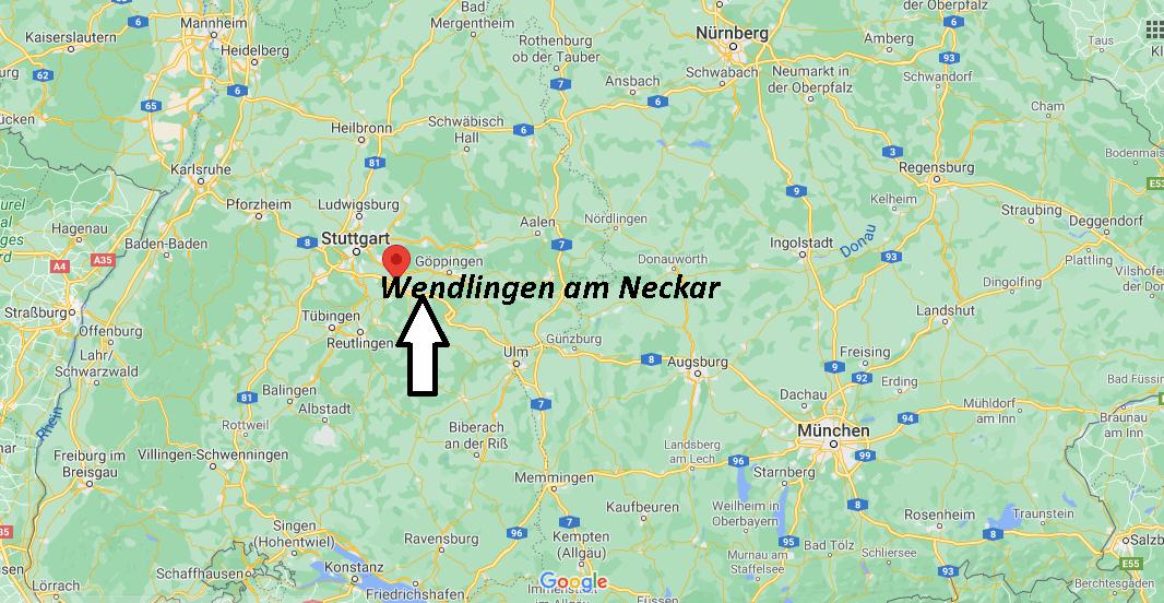 Wo ist Wendlingen am Neckar (Postleitzahl 73240)