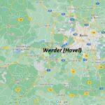 Wo ist Werder (Havel) (Postleitzahl 14542)