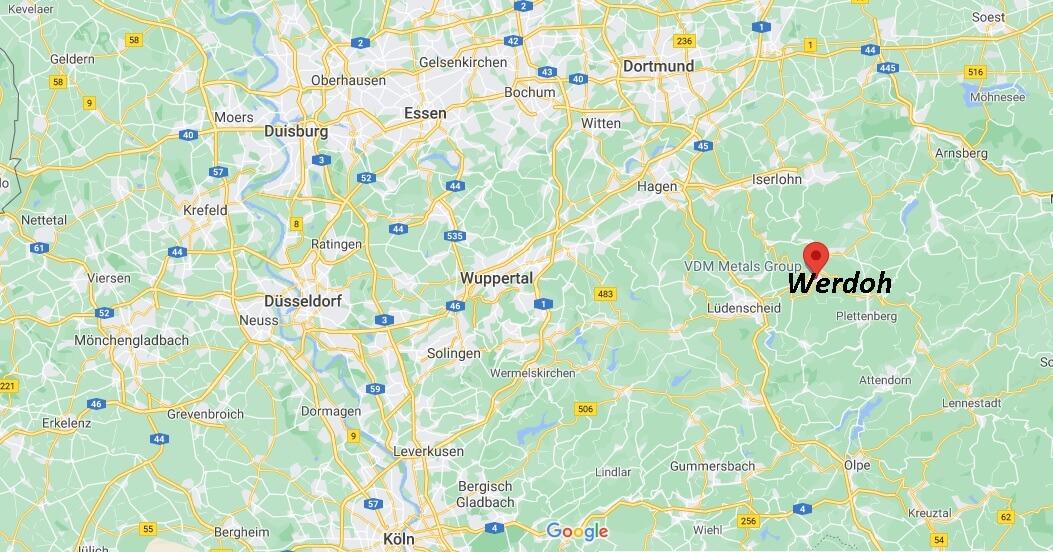 In welchem Bundesland liegt Werdohl
