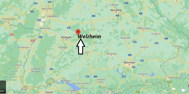 Wo liegt Welzheim