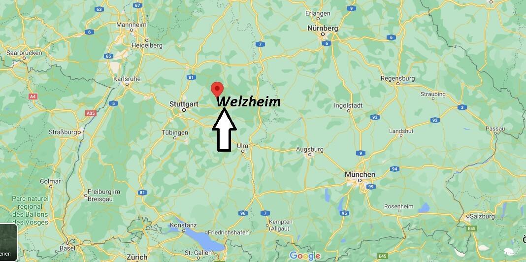 In welchem Bundesland ist Welzheim