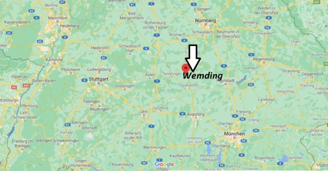 Wo liegt Wemding