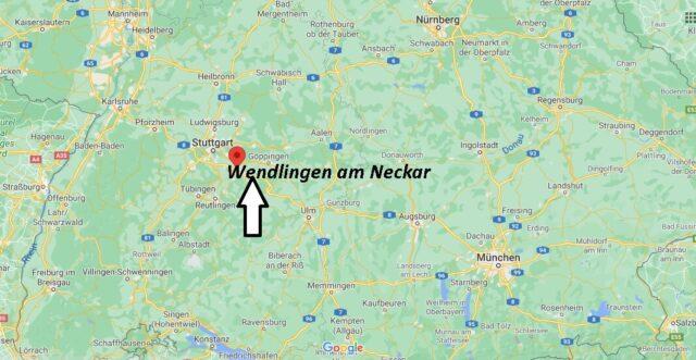 Wo liegt Wendlingen am Neckar