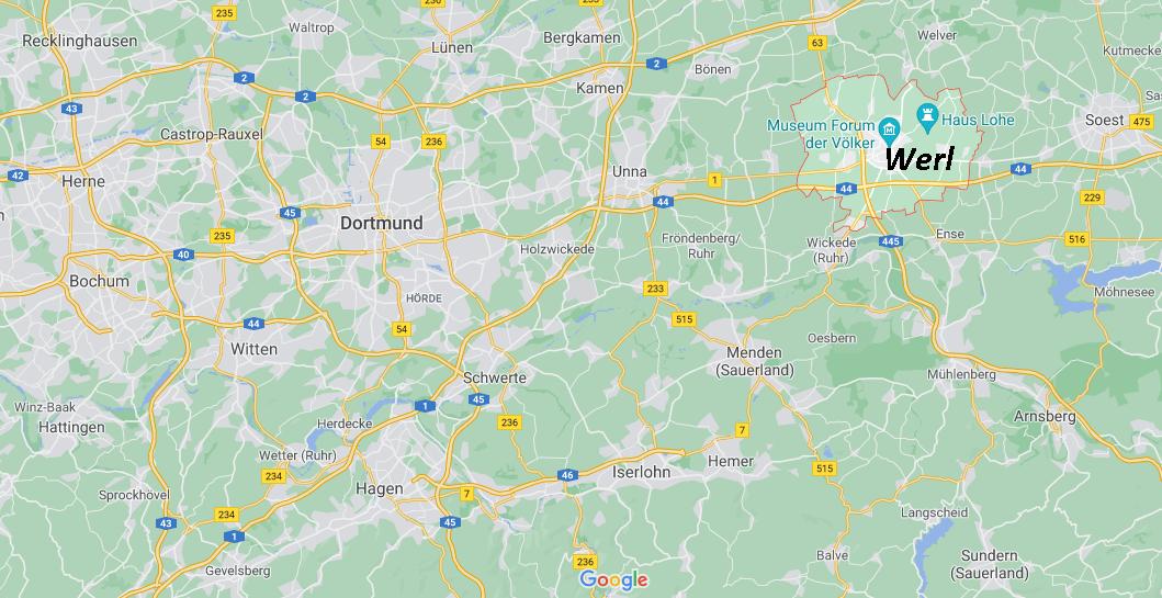 In welchem Bundesland liegt Werl
