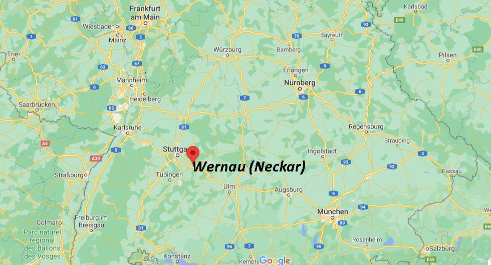 In welchem Bundesland liegt Wernau (Neckar)