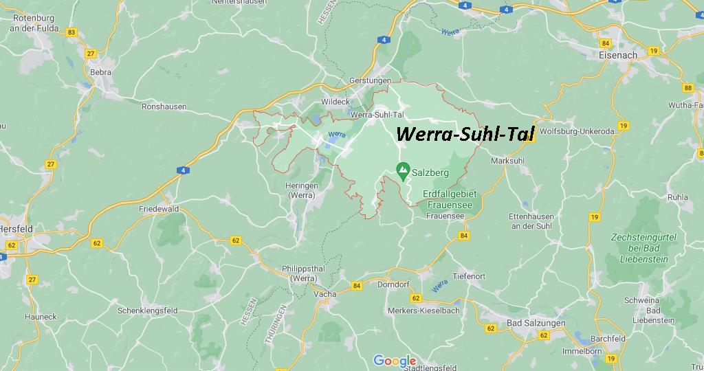 In welchem Bundesland liegt Werra-Suhl-Tal