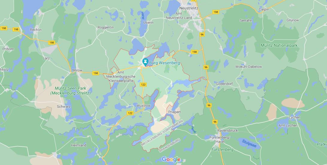 In welchem Bundesland liegt Wesenberg