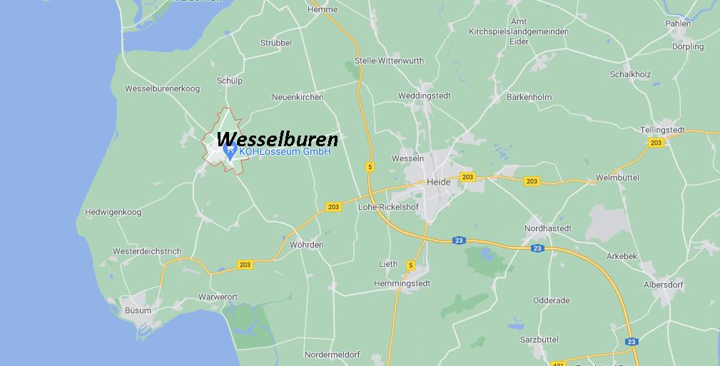 In welchem Bundesland liegt Wesselburen
