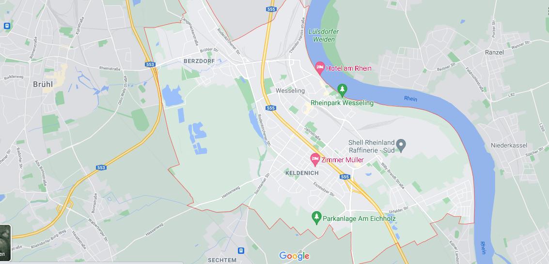 In welchem Bundesland liegt Wesseling