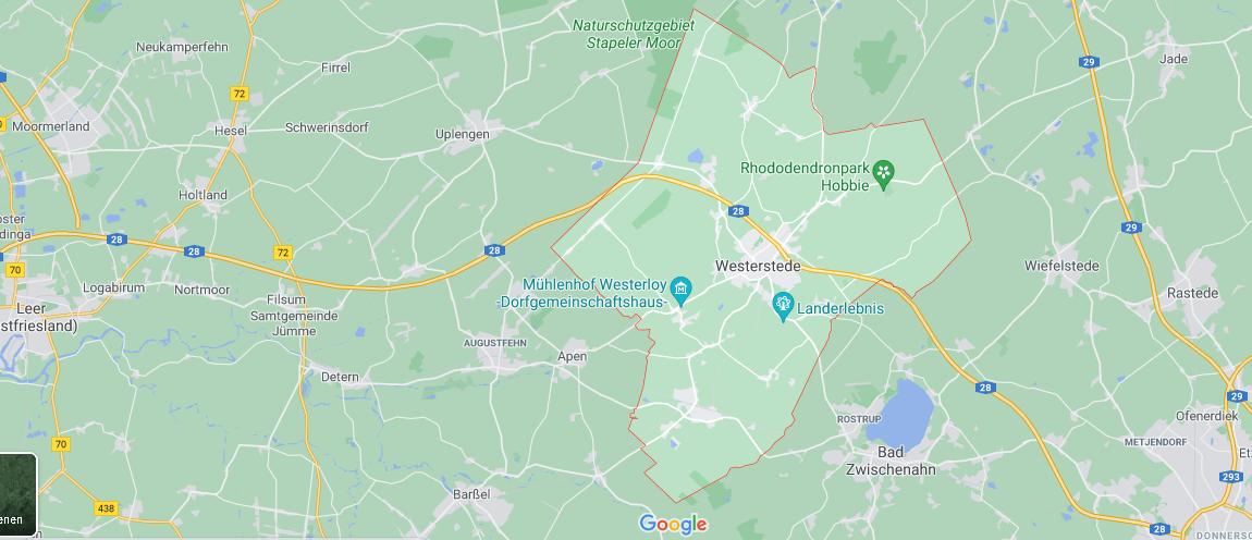 In welchem Bundesland liegt Westerstede