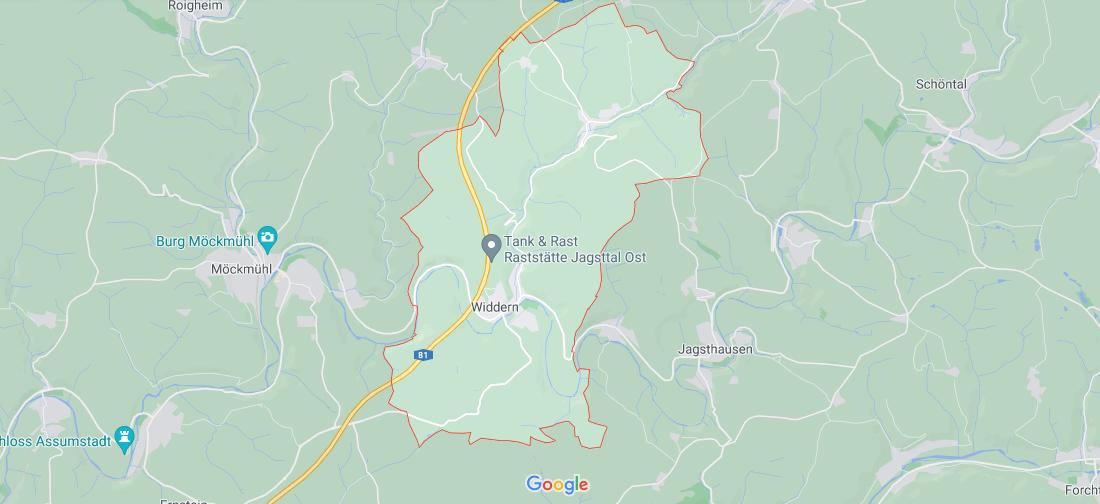 In welchem Bundesland liegt Widdern