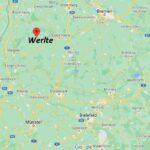 Wo ist Werlte (Postleitzahl 49757)