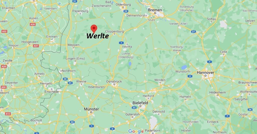 In welchem Bundesland liegt Werlte